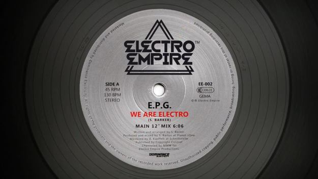 EPG – We Are Electro (Electro Empire 002)